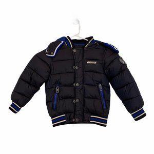 Diesel Kids coat removable hood jacket zipper  SZ4